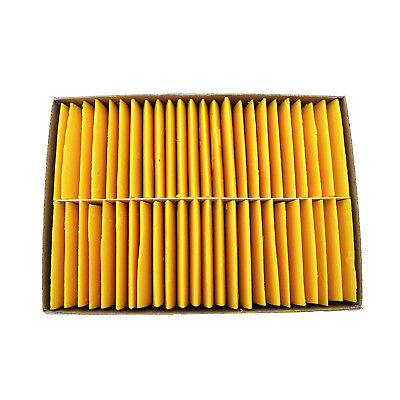 Yellow Tailor's Chalks - Box of 48 Pcs. Sewing & Tailoring Chalk
