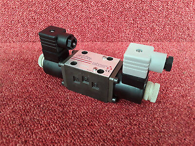 Atos 3 Position CETOP 3 Ng6 Solenoid Directional Valve DHU-0714 18 24VDC *