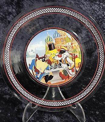 Moscow Sylvester- Tweety-Taz Collectable Glass Plate