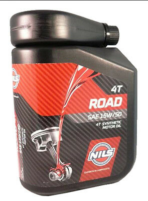Olio Motore Nils Road 4T Synthetic Motor Oil Sae 15W 50 - 9952973