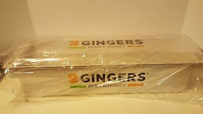 2 Gingers Irish Whiskey - Promo Bar Ware  *new*