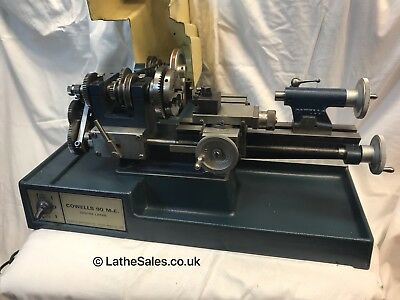 Cowells Lathe 90ME -Very good condition For Clockmaker or Model Engineer