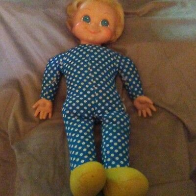 """Vintage 21"""" 1960s Family Affair Mrs Beasley Doll 1967 by Mattel does not talk"""