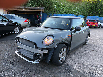 2016 MINI ONE 1.5 D GREY MANUAL-ONLY 2064 MILES-DAMAGED-HPi CLEAR