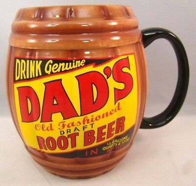 Dads Old Fashioned Root Beer Barrel Mug Teleflora Ceramic Cup