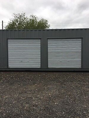 Shipping Container 20ft with roller shutter doors self storage Doncaster