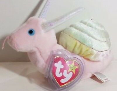 1999 swirly TY beanie baby retired and rare With Tags And Tag Protector