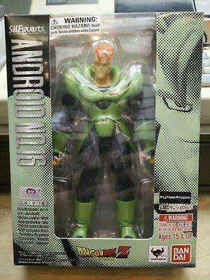 Dragonball Z Bandai Tamashii Nations S.H. Figuarts Android 16 Figure Brand New!
