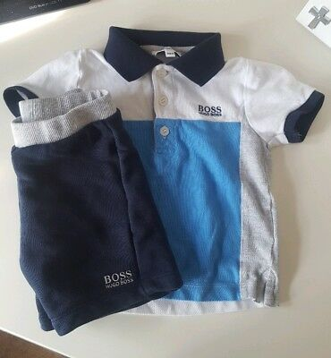 Hugo Boss Boy short and tshirt