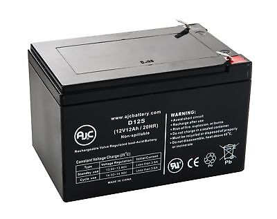 Haijiu 6-DFM-12A 12V 12Ah Scooter Battery - This is an AJC Brand Replacement