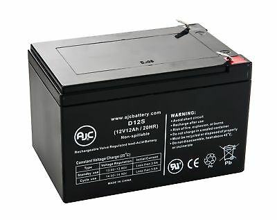 Invacare Lynx L-3 12V 12Ah Wheelchair Battery - This is an AJC Brand Replacement