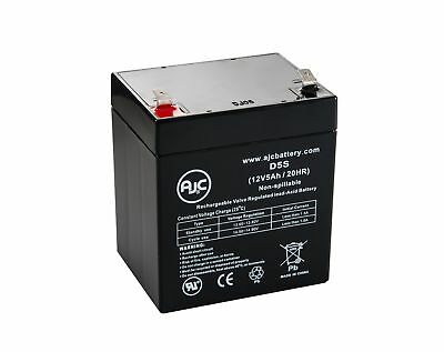 PBQ 5,2-12 12V 5Ah Sealed Lead Acid Battery - This is an AJC Brand Replacement