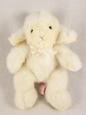 9 Russ White Fluffles Baby Lamb Plush Stuffed Animal 7 99 Picclick