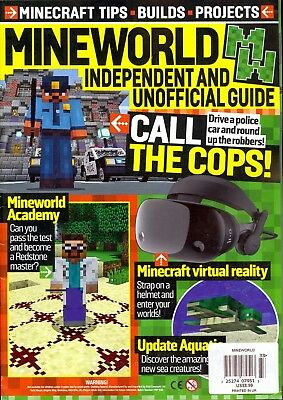 Mineworld Issue 33 (2018) Minecraft Tips Builds Projects Virtual Reality...
