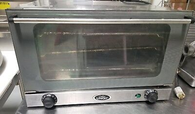 Cadco UNOX OV-350/ XA015 Tabletop Half Sheet Convection Oven