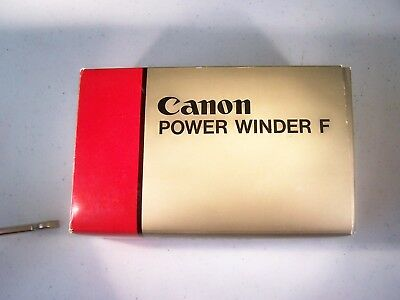 canon Power Winder F