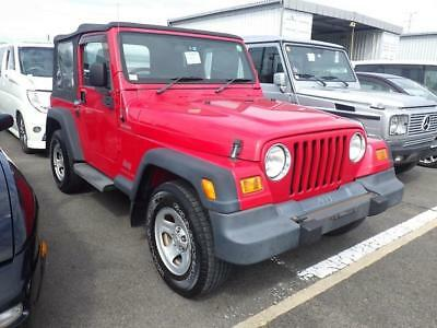 2005 Jeep Wrangler 4.0l Sport Softop 3dr