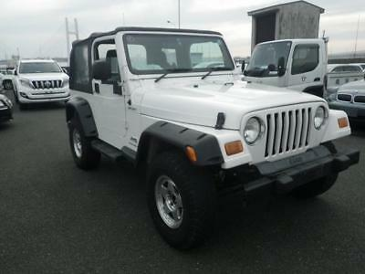 2003 Jeep Wrangler 4.0l Sport Softop 3dr