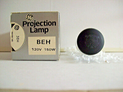 BEH Projector Projection Lamp Bulb 150W 120V GE Brand *AVG 15-HR LAMP*