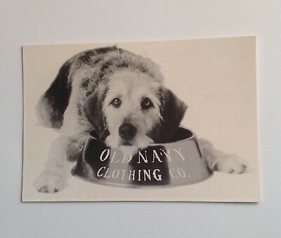Old Navy Clothing Co. Vintage 1994 Postcard