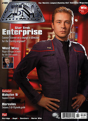 TV Zone (1989) #169 Star Trek Enterprise Connon Trinneer Cover & Interview NM-