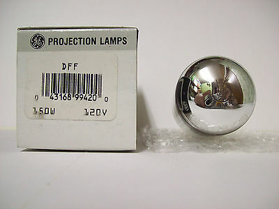 DFF Projector Projection Lamp Bulb 150W 120V  GE Brand  *AVG. 500-HOUR LAMP*