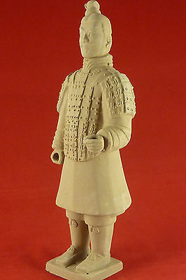 Terracotta Warrior Infantry. Chinese Army Soldier