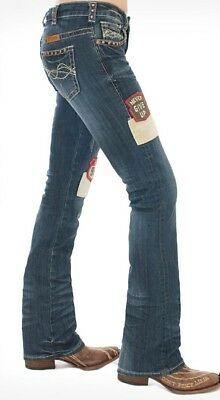 Cowgirl Tuff unBelieveable Fit Patched Up 30 33 regular Jeans