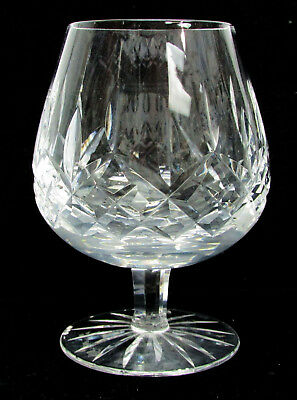 """Waterford Crystal 5"""" Lismore Brandy Snifter Cognac Glass"""