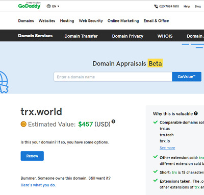 TRX.world Tron Crypto Currency Passive Adsense Affiliate Income Opportunity!