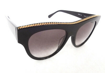 af4dbd5a48 STELLA McCARTNEY Women s Sunglasses SC0017S Shiny Black MADE IN ITALY ...