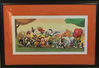 Warner Brothers Gang, Animation Art, Seriolithograph, Cert of Authenticity