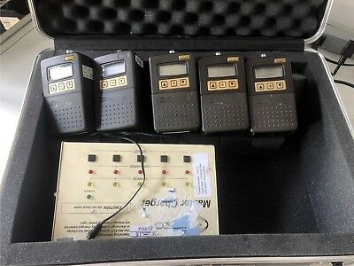 SKC Airchek 2000 Programmable Air Sampler Pump 210-2002 set of 5 with charger