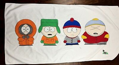 South Park Gang Beach Towel 1998 Comedy Central 54 X 27""