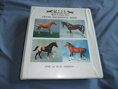 Japan Ceramic Figurine  Model Horse Reference Book, Made In Japan Club 1996,