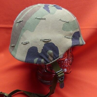US Military PASGT Combat Helmet Unicor Green Size SMALL