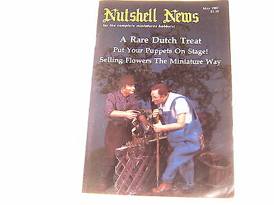 #2389 1987 May  Nutshell News Minatures Magazine For Creators & Collectors