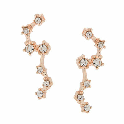 c10a0153f CLAIRE'S GIRL'S ROSE Gold Crystal Stud Earrings - £5.00 | PicClick UK