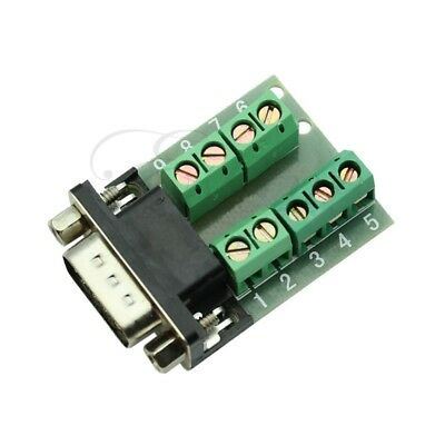 DB9 male adapter signals Terminal module RS232 Serial to Terminal DB9 connector