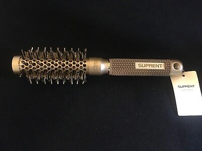 "Suprent 25 2"" Nano Thermal Ceramic & Ionic Round Barrel Hair Brush Boar Bristle"