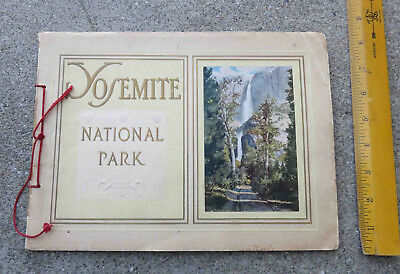 1912 Yosemite Valley Railroad Tourist Promo Guide Yosemite National Park