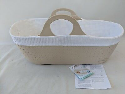 Moba Moses Basket in BEIGE