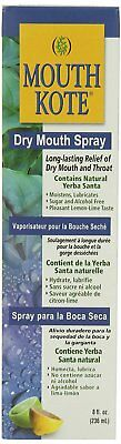 Mouth Kote Dry Mouth Spray, Oral Moisturizer with Yerba Santa, 8 Fluid Ounce
