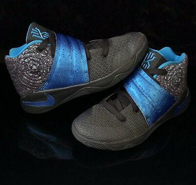 online store ee724 528e3 NIKE KYRIE 2 Boys Preschool Basketball Shoes Size 13.5C Blue/Black  827280-005