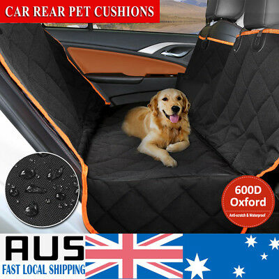 Pet Seat Cover Dog/Cat Car Rear Back For Waterproof Protector Hammock NonSlip