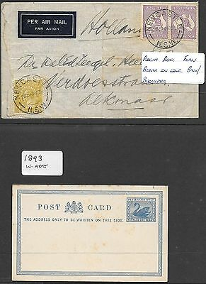 Australian (Pre-Decimal), Tangier, English stamps and covers.