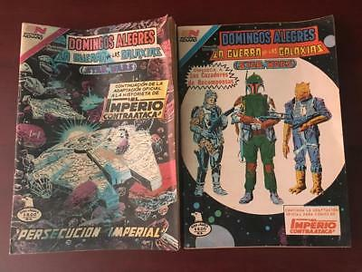 STAR WARS MEXICAN COMIC from 80´s SERIE AGUILA EDITORIAL NOVARO 2 DIF