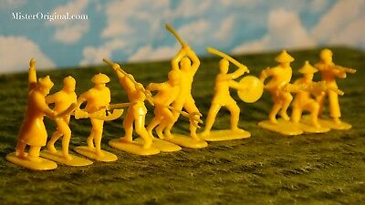 CLOSEOUT Armies in Plastic Northeastern Woodland Indians Set #2 1//32 Scale 54mm