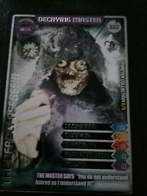 Doctor Who Monster Invasion Ultimate Card Number 362 Decaying Master