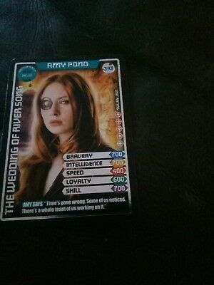 Doctor Who Monster Invasion Ultimate Card Amy Pond Card Number 393